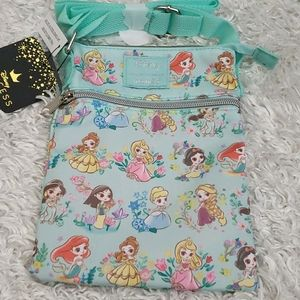 NWT Loungefly Disney Princesses Crossbody